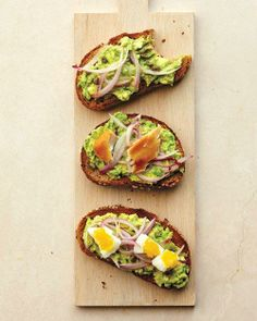 Toast Toppers // Avocado, Caper, and Pickled-Onion Toast Recipe