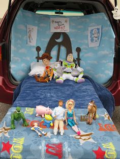 """""""Andy's Room"""" Trunk or treat idea"""