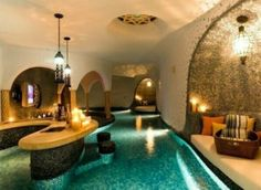 Lazy river through the house!