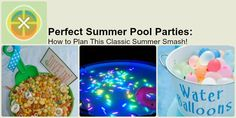 Summer Pool Party Ideas | Snappening.com