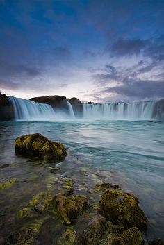 Waterfall of Gods, Iceland #pinterest #travel #inspiration #bucketlist