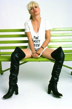 Debbie Harry by Brian Duffy