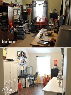 Organized craft room makeover!