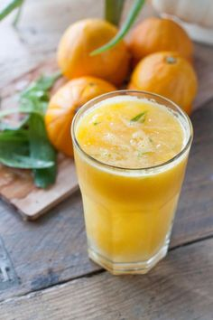 Aloe vera orange juice via Rosalie's Recipes