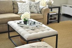 Honey We're Home:  Overstock Renate Coffee Table Ottoman