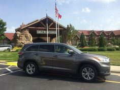 Driving to @GreatWolfLodge in the 2014  Toyota Highlander #LetsGoPlaces #Travel