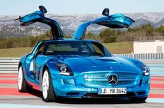 The Mercedes-Benz SLS was the first fully electric supercar to be produced, and the battery fuelled car comes with 740 horsepower. Hit the image for more breathtaking electric supercars...