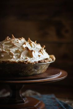 Butterscotch Pie / Adventures in Cooking