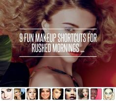 9 Fun Makeup Shortcu