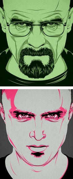 Breaking Bad Illustrations by CranioDsgn