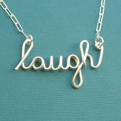 laugh necklace