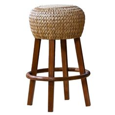 I pinned this Seagrass Barstool from the Family Kitchen event at Joss and Main!