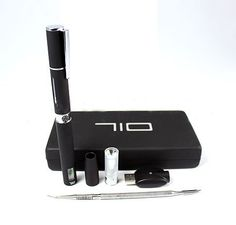 The 710 pen vaporizer is easy to use and is compatible with oils/wax.  It has a super fast heat up time with a convenient LCD display. This complete package comes with a carrying case and a water filtration adapter for maximum benefit.