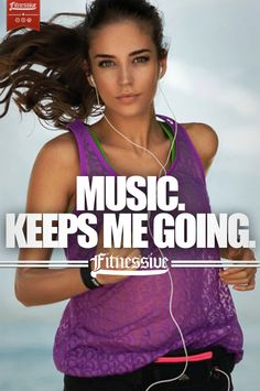 .music keeps me going:)