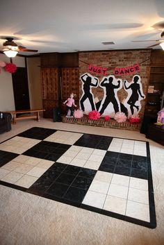 Dance party decorations!