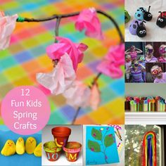 12 Cute Spring Crafts for Kids