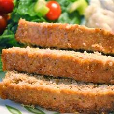 Turkey and Quinoa Meatloaf Allrecipes.com  I wanna try this for dinner tonight!
