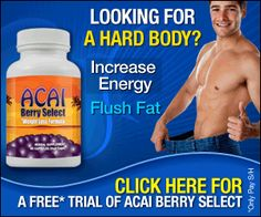 Lose Weight and Get Ripped! Studies have shown that this little berry is one of the most nutritious and powerful foods in the world! This version of Acai Berry Select is specifically geared toward men as a work out supplement. Get your free trial today.