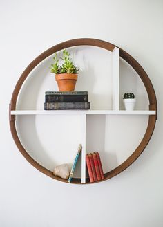 Make this hoop shelf in an hour!