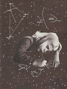 icancauseaconstellation:  Drawing Constellations III (Scorpio) by Andres Gamiochipi on Flickr.
