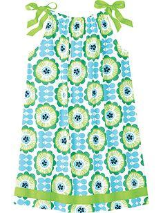 Pillowcase Dress from #HannaAndersson.