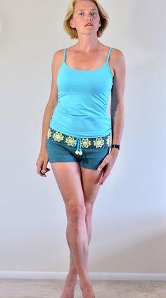 Cute crochet shorts!