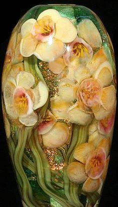 Gorgeous glassware vase
