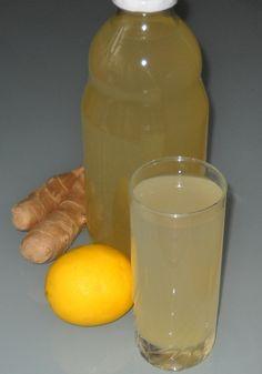 Sok od đumbira i limuna