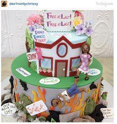 Divorce Cakes (12 Photos)