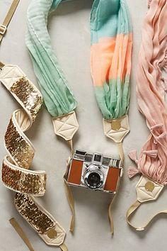 pretty camera straps