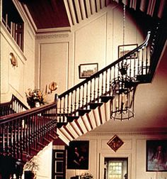 """Flying""Staircase... Shirley Plantation.. Charles City,VA."