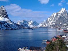 Norvegia, Reine i Lofoten