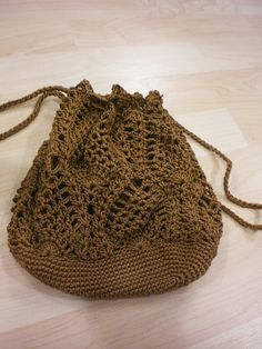 Crochet Pouch with Pineapple