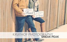 Engagement Photo Props. I Stole her Heart & by OurHobbyToYourHome