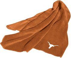 NCAA Texas Longhorns Fleece Throw