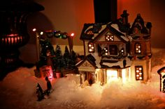 Love Christmas Villages