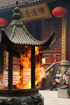 Jade Buddha Temple, Shanghai, China | Flickr - Photo Sharing!