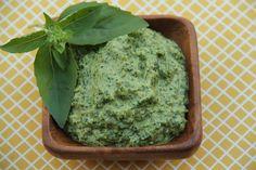Vegan Arugula Walnut Pesto