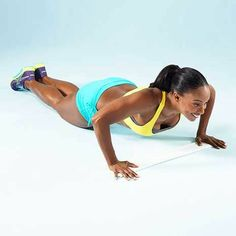 Your Better Body Plan Workout: Princess Push-Up #makefithappencontest