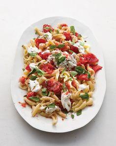 Tomato and Basil Pasta - Martha Stewart Recipes