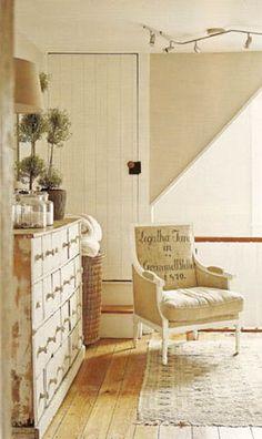 Grain Sack Upholstery