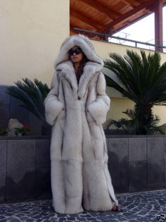 In this #fox #fur coat you can handle anything, even 75 and sunny... http://www.furcentre.com/