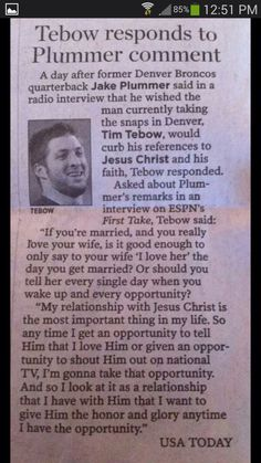 Love Me Some Tebow!