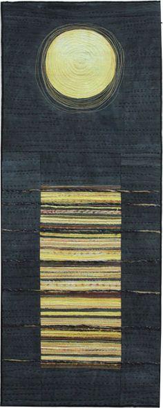 Staircase to the Moon  | Stephanie Knudsen textile|  Australia