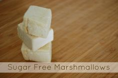 Homemade Sugar Free Marshmallows - the pin everyone has been waiting for! These marshmallows have no sugar but instead are made with honey and stevia! Tastes just like store bought (better even) but without all the crazy ingredients!