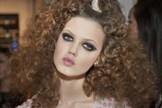 Big Hair - Chanel Cruise Dubai 2014