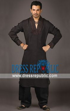 Style DRM1236 - DRM1236, Men's Ramadan Collection 2013, Shalwar Kameez Junaid Jamshed for Ramadan 2013 by www.dressrepublic.com
