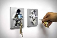 HIS & HERS KEY HOLDERS  Image