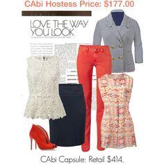Love the way you look in CAbi!   Www.debragrauss.cabionline.com