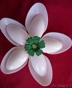 Stunning Spoon Flowers | AllFreeKidsCrafts.com
